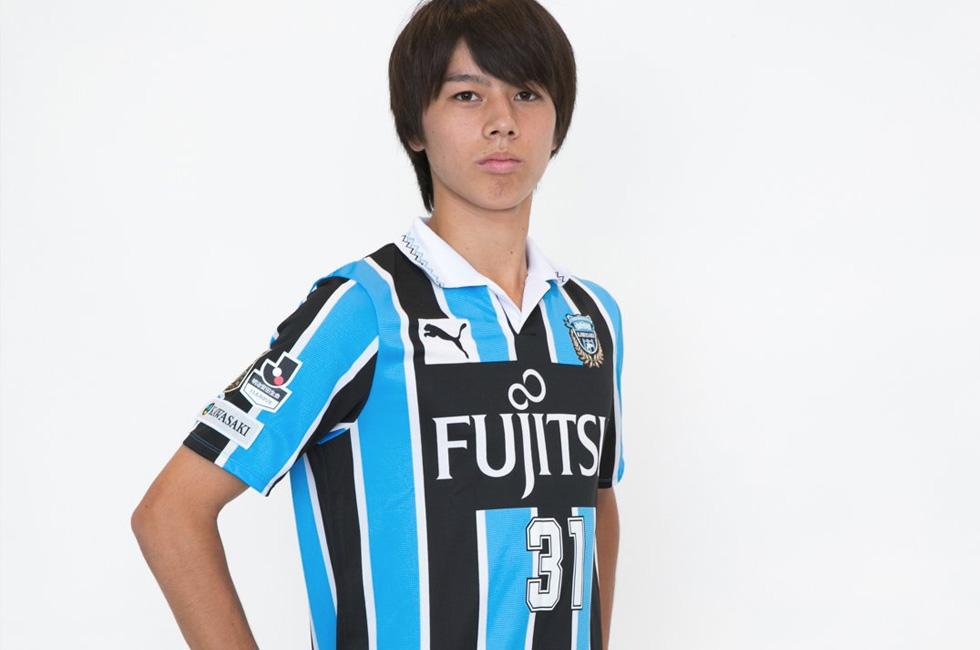 川崎フロンターレU-18所属の田中碧(たなか・あお)選手が来季トップ昇格決定