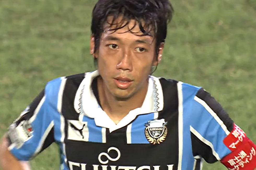 試合終了後も笑顔を見せる事がなかった中村憲剛