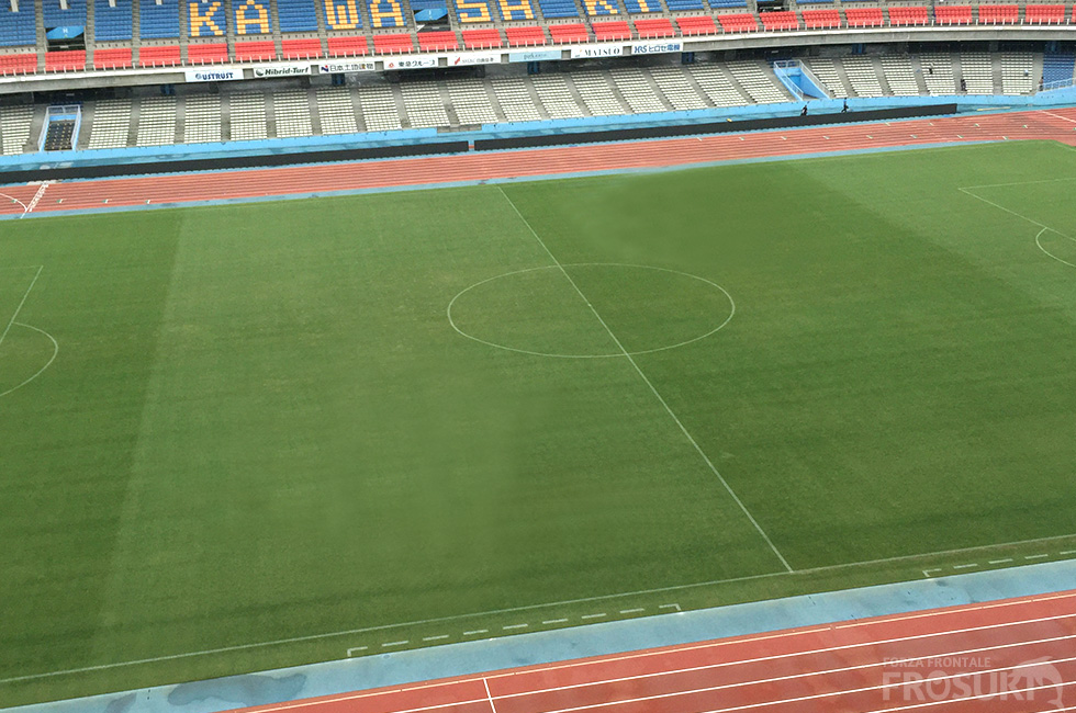 川崎フロンターレ、ACLのルール厳格化により等々力陸上競技場の観客席を一部改修へ 1階バックスタンド観客は1243席のみに。