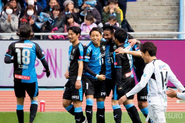スーパーセキュリティ車屋がCBで魅せたブブンブン。G大阪に完封勝利でホーム初勝利。