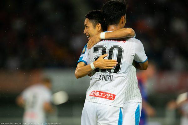 小林悠「この場所は絶対に渡したくない」6試合を残した段階での首位奪取。連覇へ向け長崎に勝利